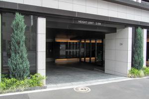 マジェスティハウス新宿御苑パークナードのエントランス
