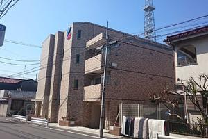 スカイコート多摩川壱番館の外観