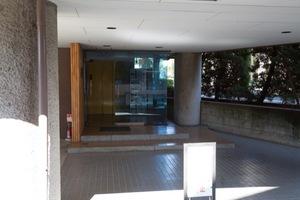 千代田マンション永福町のエントランス