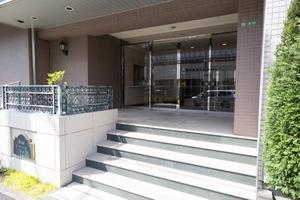 日神パレステージ石神井台のエントランス