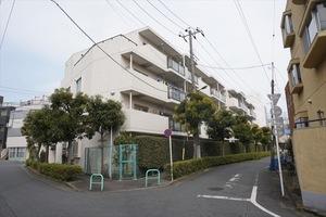 江古田パークハイツの外観