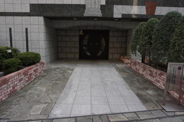 グランドガーラ横浜山下町のエントランス