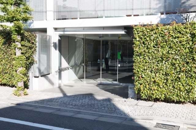 ピアースコード駒沢大学のエントランス