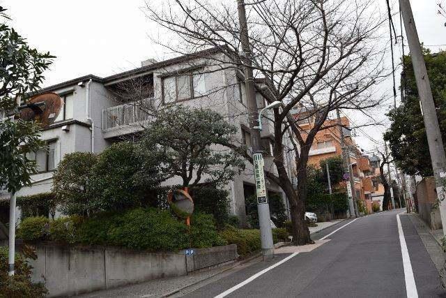 大岡山グリーンハイツの外観