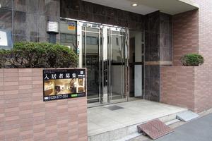 菱和パレス渋谷西のエントランス
