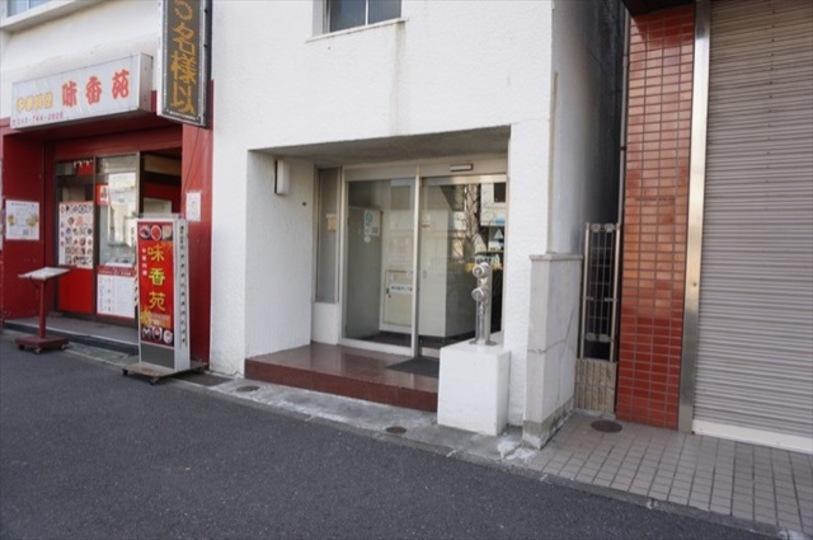ハイツ南太田のエントランス
