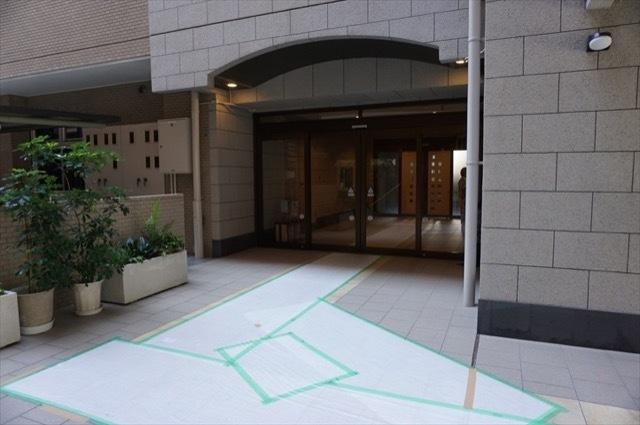 コスモ横浜大通公園のエントランス