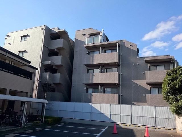 ルーブル南馬込弐番館の外観