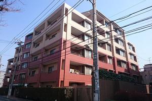 ガーデンホーム武蔵新田の外観
