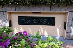 コスモ多摩川ラ・ミューゼの看板