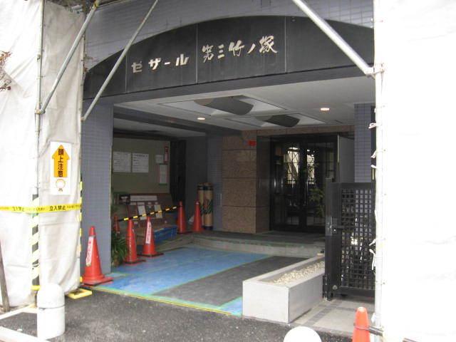 セザール第3竹ノ塚のエントランス