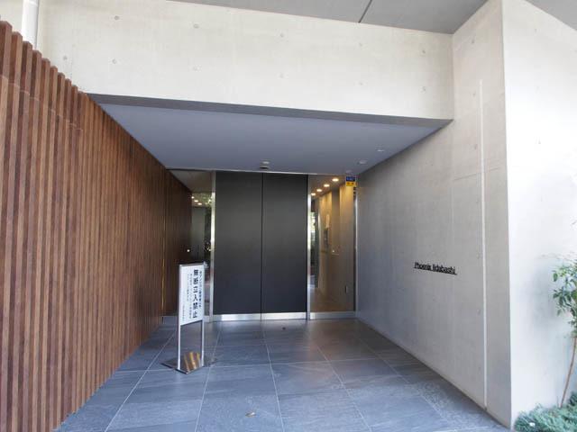 フェニックス飯田橋のエントランス