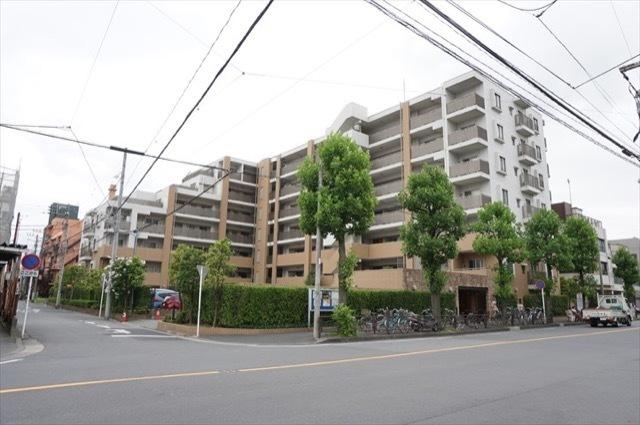 ディアステージ川崎渡田パークフロントの外観