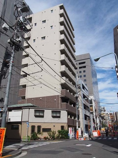 ドルチェ銀座東弐番館の外観