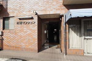 本郷マンション(文京区西片)のエントランス