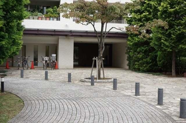 パークホームズ新川崎フォレストコートのエントランス