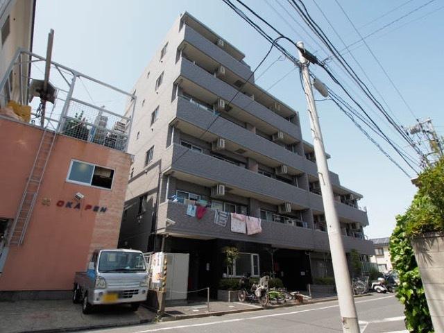 レクシオ竹ノ塚ジーフォルムの外観