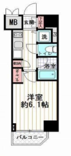 コンシェリア大塚駅前の間取り