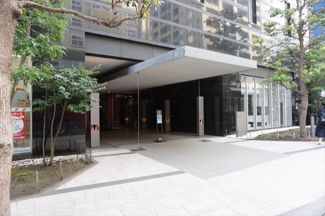 横濱ディアタワーのエントランス