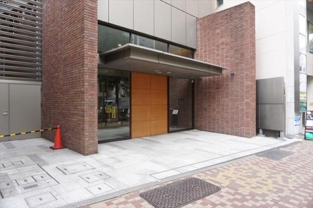横浜シティタワー馬車道のエントランス