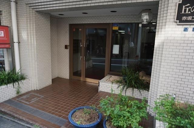 藤和赤坂コープのエントランス