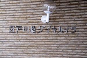 江戸川橋ダイヤハイツの看板