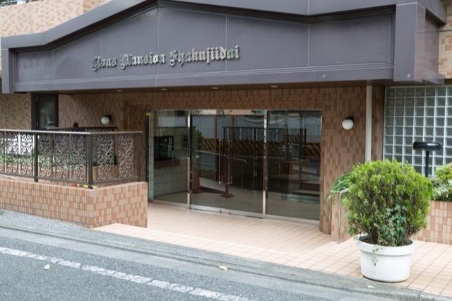 ライオンズマンション石神井台のエントランス