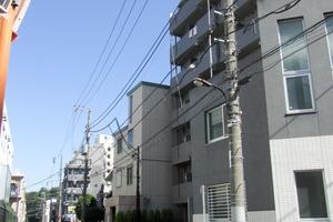 ルーブル早稲田伍番館の外観