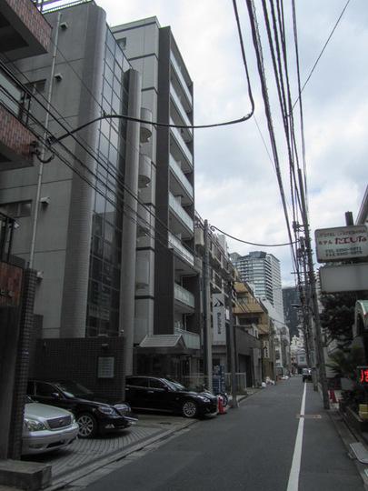 パレコート新宿の外観