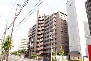 日商岩井木場マンションの外観