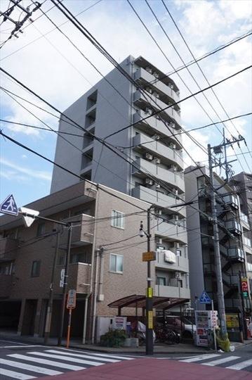 エクセル鶴見(横浜市)の外観