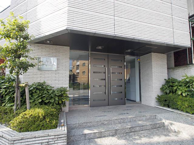 ガーラ文京本駒込のエントランス