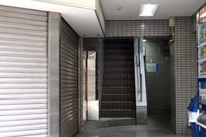 中田第3ビルのエントランス