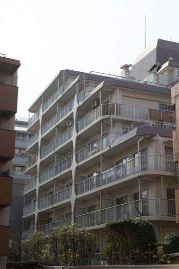 日商岩井第2玉川台マンションの外観