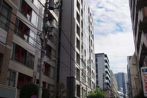 ライオンズクオーレ東京八丁堀の外観