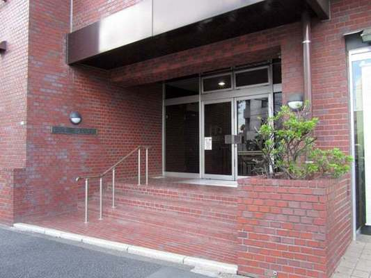 柿ノ木坂スカイマンションのエントランス