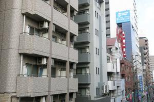 ガラシティ笹塚駅前の外観