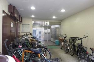 アルプスマンション板橋本町のエントランス