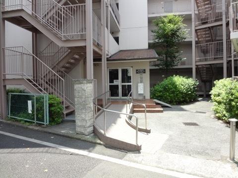 堀切菖蒲園ダイヤモンドマンションのエントランス