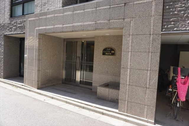 ジョイフル1番館鶴見中央のエントランス