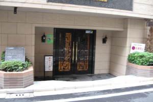アヴァンティーク銀座2丁目弐番館のエントランス
