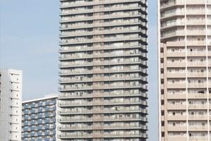 スカイシティ豊洲ベイサイドタワーの外観