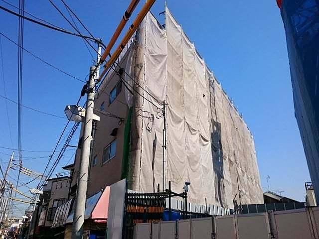 日の出ハイツ(大田区)の外観