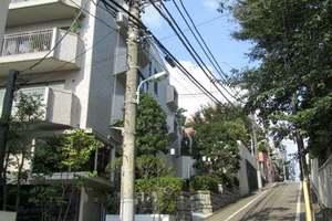 目黒三田パークマンションの外観