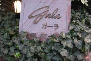 ガーラ銀座東の看板