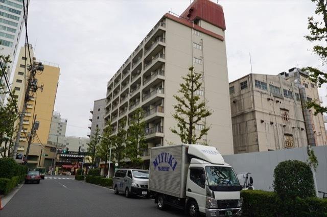 浜松町ビジネスマンションの外観
