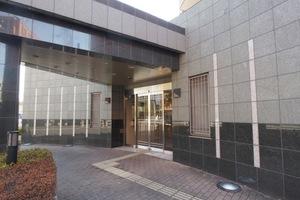 ライオンズガーデン東武練馬壱番館のエントランス