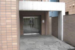 朝日シティパリオ高輪台A館のエントランス