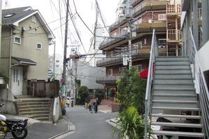 神宮ハイツ(渋谷区)の外観