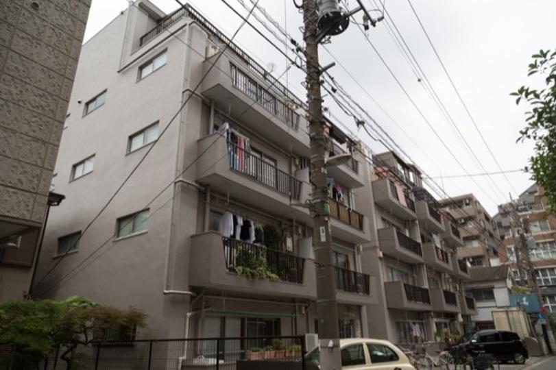 第2桜台マンションの外観